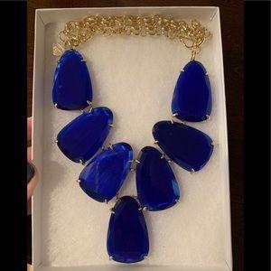 Kendra Scott Royal Blue Harlow Necklace